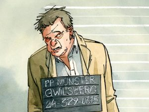 Comic Wilsberg