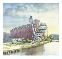 Architektur Zeichnung Illustration