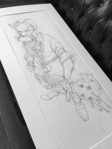Karikatur, Figur, Portrait