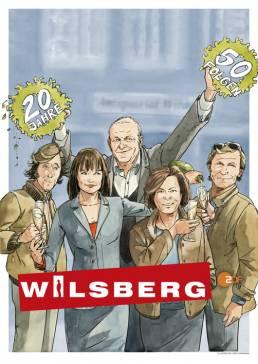 Wilsberg Illustration zdf