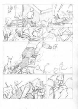 Comic Bleistift