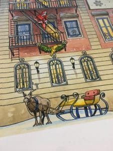 Illustration Adevntskalender Good Year